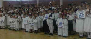 XII. županijska smotra dječjeg folklora u Đurđevcu